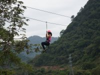 Treetop adventure + abseiling in Orizaba