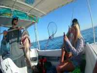 Presumiendo la buena pesca