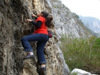 Rock climbing in Orizaba