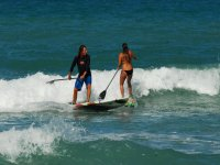 Desafiando las olas