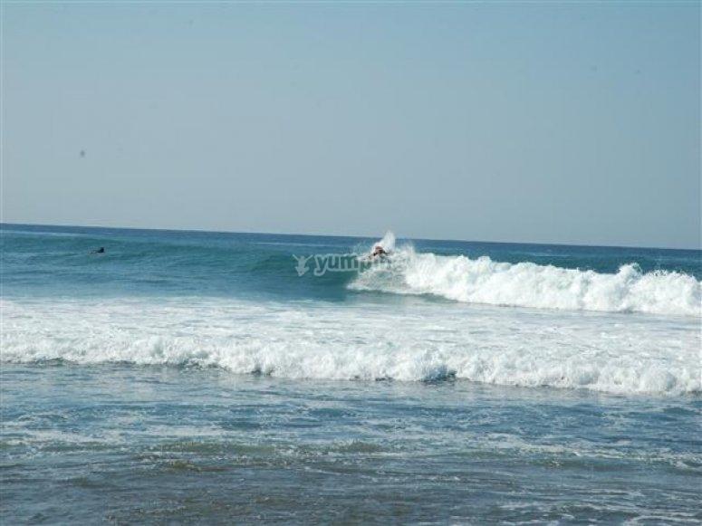 Playa de Ticla