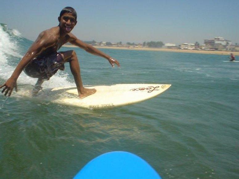 Todos surfean