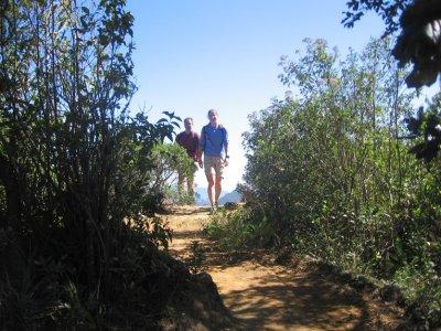 Hiking excursion, Cerro del Borrego