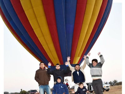 Balloon flight + hosting in Tequisquiapan