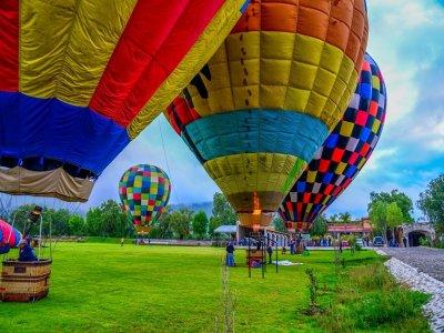 Balloon flight + hosting in Tequisquiapan