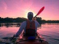 Kayaking paddling