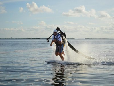 Jetpack flight for 30 minutes in Cancun