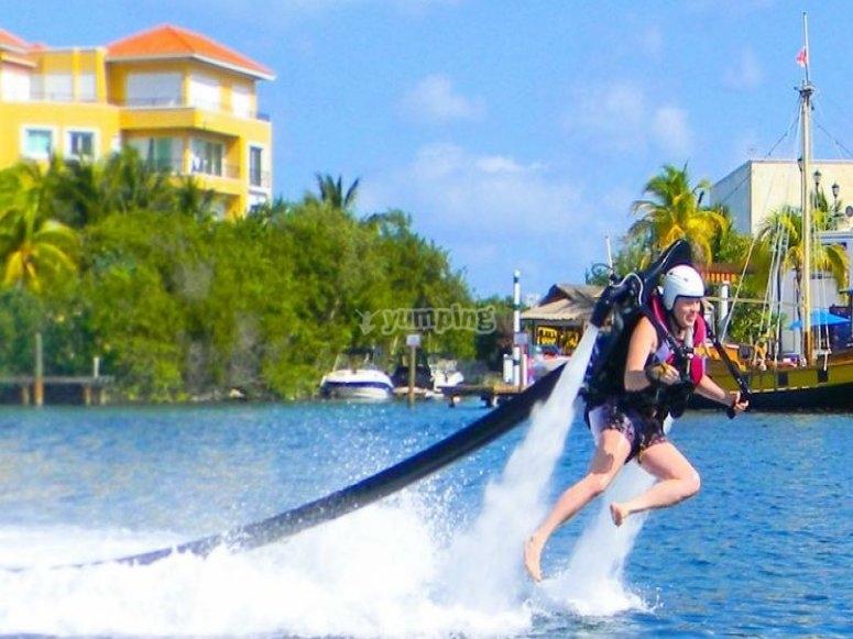 Fligh in Cancun