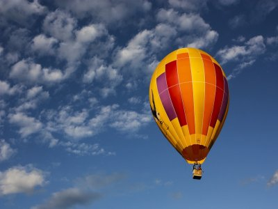 Special Yumping Mexico balloon flight, Hidalgo