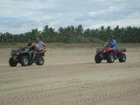 ATV en acción