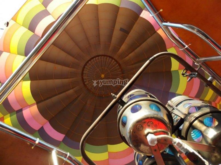 Balloon Experience in Hidalgo