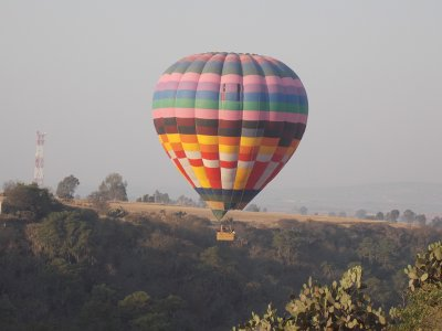 Balloon flight for 1 hour in Huasca de Ocampo