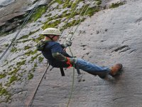 Getting off with rappel