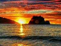 Sunset in huatulco