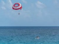 Flight in Parasailing