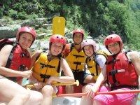 Fun on the rapids