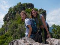 Hike and climbing in La Peña