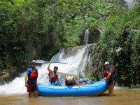 Rafting en el Río Lacanja en Selva Lacandona