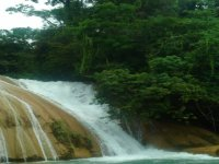 Waterfalls of Blue Water