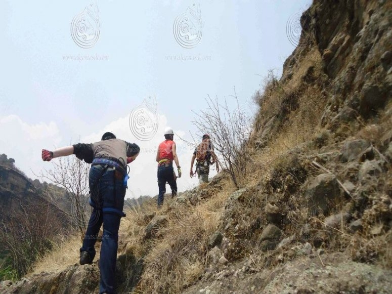 Subiendo el cerro