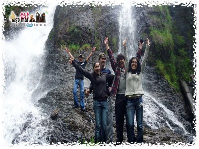 Guided hiking tour to Obraje waterfalls in Ocuilan