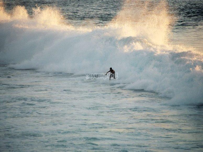Sobrevive a las olas