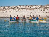 Grupos de kayaks