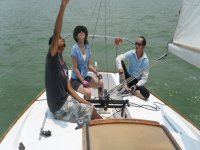 sailing session in the valley