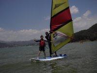 learn windsurfing Fun