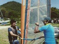 tuning the windsurfing