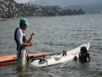 windsurfing class in the valley