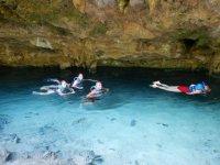 Snorkel en Cenote de la Riviera Maya