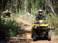 ATVs in the Selva Maya