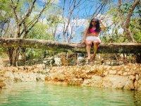 Cenote Rio Maya in the Yucatecan Jungle