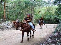 Horseback Riding through the Mayan Jungle