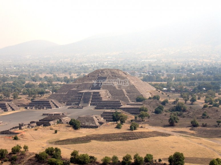Pyramids from above