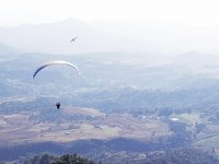 Panoramic View in Paragliding