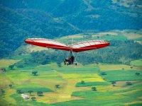 View Valle de Bravo in hang gliding
