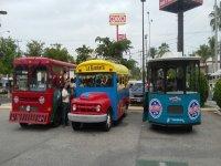 Three trucks ready