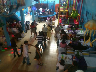 Children party 130 people Fridays in Ecatepec