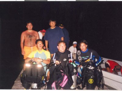 Scuba Diving basic course. Mexican City.