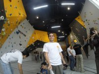 our climbing gym