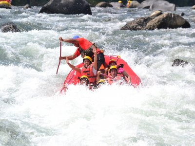 3h white water rafting in Filobobos River