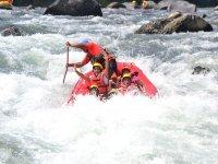 Excursión de rafting 3 hrs en Río Filobobos