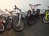 training bikes