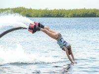 Salta como delfín