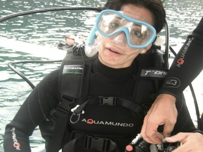 Discover Scuba Diving PADI experience.