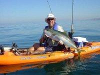 Pesca desde un Kayak