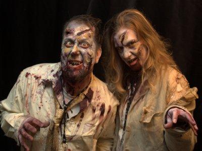 Rally zombie en Tepotzotlán