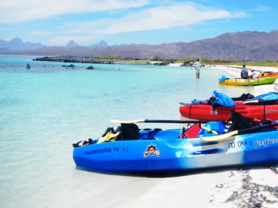 4 days kayak + tours pack in Loreto